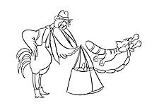 Saucisses illustration – Cartoons à imprimer