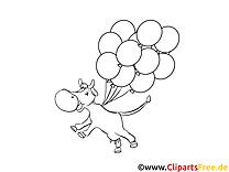 Vache clip arts – Cartoons à imprimer