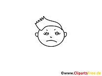 Garçon dessin – Coloriage gens à télécharger
