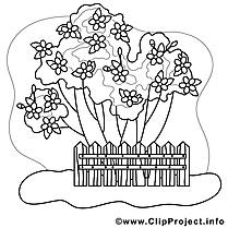 Palissade clip art gratuit – Printemps à imprimer