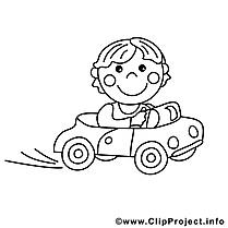 Chauffeur image gratuite – Métiers à imprimer