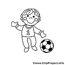 Footballeur cliparts gratuis – Métiers à imprimer