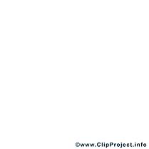 Pirate clip art – Métiers image à colorier