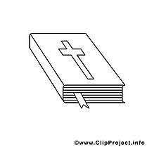 Bible illustration – Confirmation à colorier
