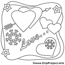 Amour images – Saint-valentin gratuits à imprimer