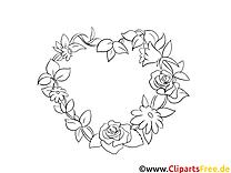 Fête images – Saint-valentin gratuit à imprimer
