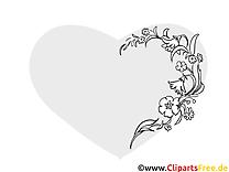 Images fleurs – Saint-valentin gratuits à imprimer