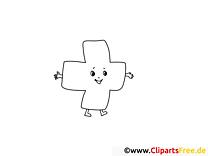 Croix image – Santé images à colorier