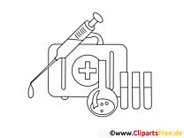 Médicaments dessins gratuits – Santé à colorier