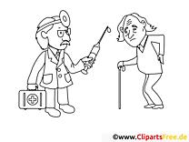 Piqûre clip art gratuit – Santé à colorier