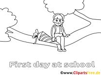 Arbre clipart – Élémentaire dessins à colorier