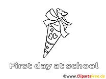 Image gratuite élémentaire à colorier