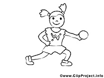 Sport coloriages