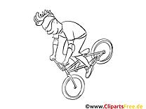 Bicyclette images – Sport gratuit à imprimer