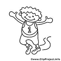 `Premier dessin – Sport gratuits à imprimer