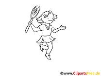 Tennis images – Sport gratuits à imprimer