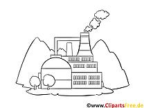 Fabrique image – Coloriage Machines illustration