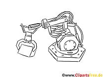 Production clip arts – Machines à imprimer