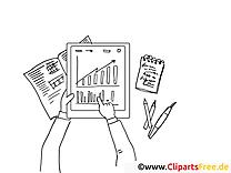 Diagramme image à télécharger – Travail à colorier