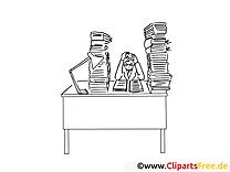 Entrave clip arts – Travail à imprimer