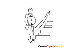 Escalier illustration – Coloriage travail cliparts
