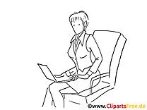 Femme cliparts gratuis – Travail à imprimer