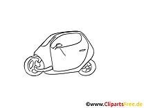 Petite car dessin à imprimer - Voiture images