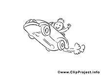 Salut voiture clip arts – Voitures à imprimer