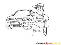 Service dessin gratuit- Voiture clip arts gratuits