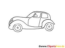 Vieille voiture images gratuites à imprimer