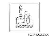 Moscou illustration – Voyage à imprimer