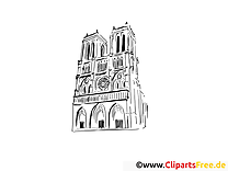 Paris images gratuites – Voyage à colorier