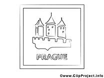 Prague illustration – Voyage à imprimer