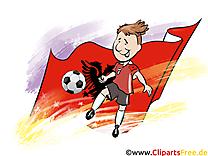 Albanie Football