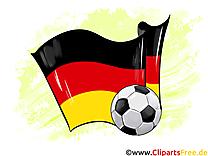 Allemagne Drapeau Coupe Du Monde gratuitement télécharger