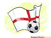 Angleterre Drapeau Football gratuitement télécharger Images