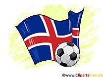 IIslande Drapeau Free Soccer Coupe Du Monde pour télécharger