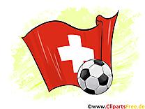 Suisse DrapeauTélécharger pour gratuit Images Soccer