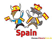 Animaux Ballon Football Espagne pour télécharger