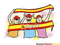 Cliparts Espagne Soccer Images pour télécharger