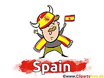 Espagne Gratuit Cliparts Joueurs Soccer télécharger