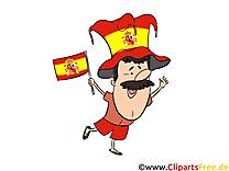 Illustration Espagne Soccer gratuitement télécharger