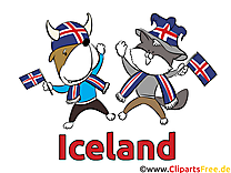Animaux Islande Clipart Football Terrain pour télécharger