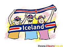 Ballon Islande Football gratuit pour télécharger