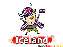 Illustrations Football Islande Joueurs télécharger