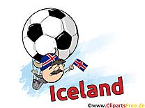 Islande Gratuit Cliparts Joueurs Soccer télécharger