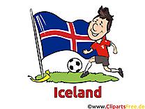 Joueur Football Islande Soccer gratuit Image