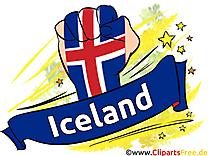 Joueurs Cliparts Soccer Islande pour télécharger