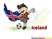 Soccer Coupe Du Monde pour télécharger Islande