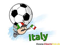 Cliparts Italie Soccer Images pour télécharger